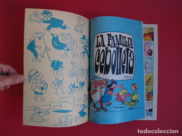 Tebeos: LA FAMILIA CEBOLLETA - LOS APUROS DE DON ROSENDO - OLÉ 58 - 1ª ED. - NÚMERO EN LOMO - BRUGERA 1971 - Foto 2 - 112256811