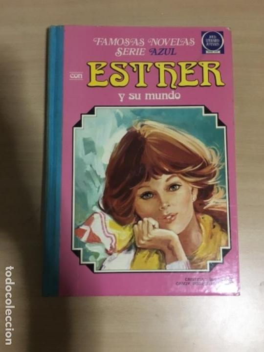 ESTHER Y SU MUNDO - FAMOSAS NOVELAS - SERIE AZUL - NUM. 3 - 2A EDICIÓN - 1981 (Tebeos y Comics - Bruguera - Esther)