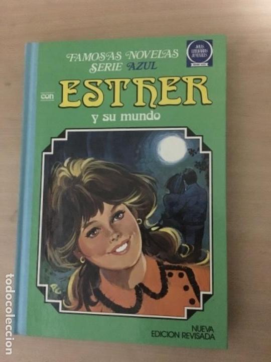 ESTHER Y SU MUNDO - FAMOSAS NOVELAS - SERIE AZUL - NUM. 7 - 2A EDICIÓN - 1985 (Tebeos y Comics - Bruguera - Esther)
