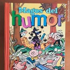 Tebeos: MAGOS DEL HUMOR VOL. X BRUGUERA VÁZQUEZ IBÁÑEZ - AÑO 1972 FALTAN 6 PÁGINAS!. Lote 112347674
