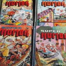 Tebeos: LOTE 5 LIBROS BRUGUERA DE MORTADELO Y FILEMON ORIGINAL AÑO 1982. Lote 165617929