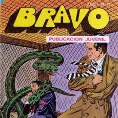 Tebeos: BRAVO- Nº 72 -INSPECTOR DAN- Nº 36 -1976 -FIERAS AL ACECHO - GRAN CLÁSICO-DIFÍCIL-CORRECTO-8036. Lote 112459043