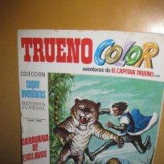 Tebeos: TRUENO COLOR. AVENTURAS DE EL CAPITAN TRUENO 230. COLECCION SUPER AVENTURAS 1.583. . Lote 112512579