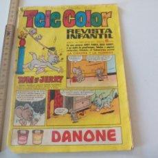 Tebeos: TELE COLOR Nº 233, BRUGUERA 1967,EL CHIPIRON Y SU TRIPULACION POR ALFONSO FIGUERAS. Lote 112759567