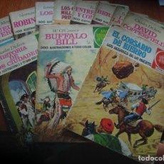 Tebeos: LOTE DE 11 T.B.O JOYAS LITERARIAS+ 1 EL CORSARIO DE HIERRO (VER FOTOS). Lote 112769603
