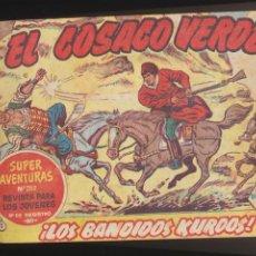 Tebeos: EL COSACO VERDE. BRUGUERA 1960. COMPLETA 144 EJEMPLARES ENCUADERNADOS EN DOS TOMOS.. Lote 112776347