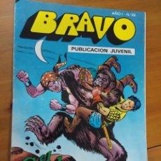 Tebeos: BRAVO 25 - EL CACHORRO 13 - SOBRE EL ABISMO - 1976 - BRUGUERA. Lote 112809879