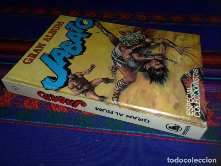 MBE. ESPECIAL COLECCIONISTAS GRAN ÁLBUM JABATO 2 CON EXTRA 4ª ÉPOCA Nº 7 8 9 10 11 12. BRUGUERA 1980 (Tebeos y Comics - Bruguera - Jabato)