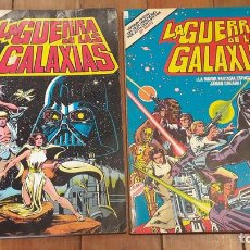 Tebeos: LA GUERRA DE LAS GALAXIAS 1ª Y 2ª PARTE - ED. BRUGUERA 1978. Lote 111655644