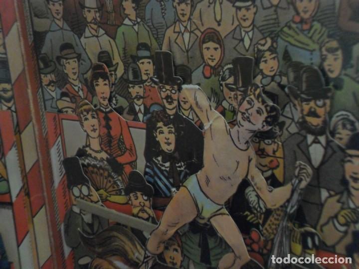 Tebeos: CIRCO INTERNACIONAL DE LOTHAR MEGGENDORFERS REPRODUCCIÓN DESPLEGABLE. BRUGUERA AÑOS 80. - Foto 3 - 112894891