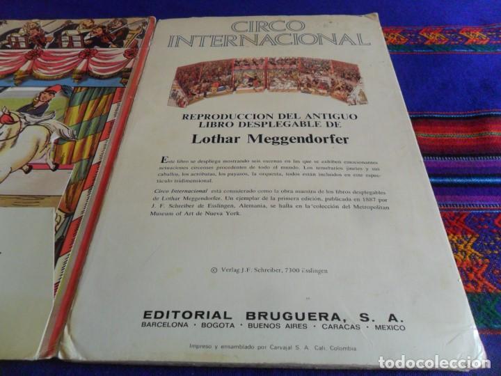Tebeos: CIRCO INTERNACIONAL DE LOTHAR MEGGENDORFERS REPRODUCCIÓN DESPLEGABLE. BRUGUERA AÑOS 80. - Foto 4 - 112894891