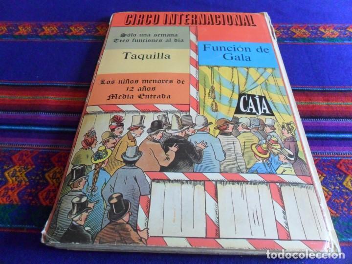 Tebeos: CIRCO INTERNACIONAL DE LOTHAR MEGGENDORFERS REPRODUCCIÓN DESPLEGABLE. BRUGUERA AÑOS 80. - Foto 5 - 112894891