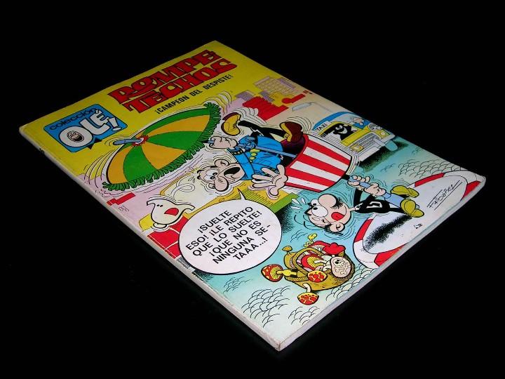 Nº 36 OLÉ BRUGUERA, ROMPETECHOS CAMPEÓN DEL DESPISTE, F. IBÁÑEZ, 1ª PRIMERA EDICIÓN 1971. (Tebeos y Comics - Bruguera - Ole)