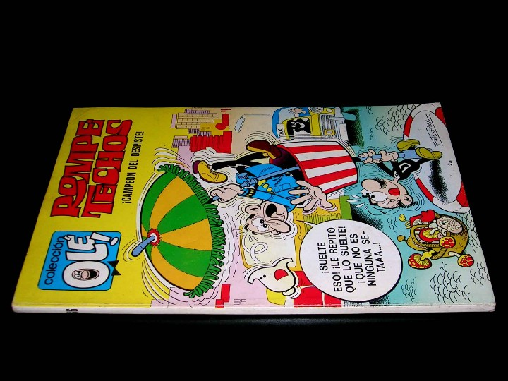 Tebeos: Nº 36 Olé Bruguera, Rompetechos Campeón del despiste, F. Ibáñez, 1ª primera edición 1971. - Foto 2 - 112930250
