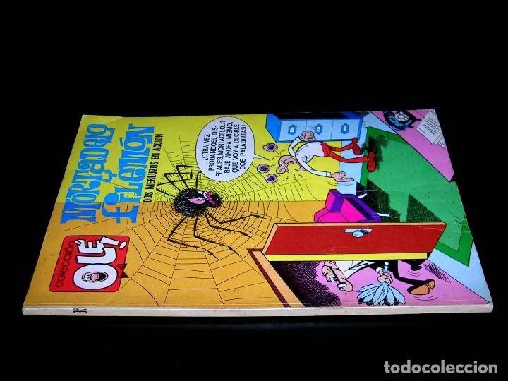 Tebeos: Nº 35 Olé Bruguera, Mortadelo y Filemón, F. Ibáñez, 1ª primera edición 1971. - Foto 2 - 112933935