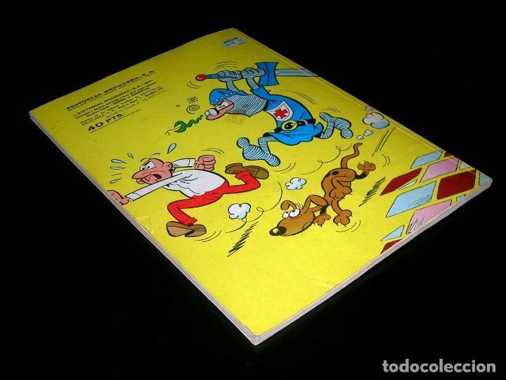 Tebeos: Nº 35 Olé Bruguera, Mortadelo y Filemón, F. Ibáñez, 1ª primera edición 1971. - Foto 3 - 112933935