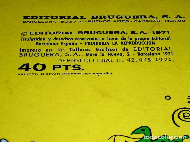 Tebeos: Nº 35 Olé Bruguera, Mortadelo y Filemón, F. Ibáñez, 1ª primera edición 1971. - Foto 5 - 112933935