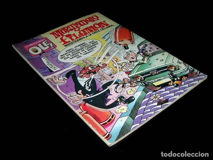 Nº 143 OLÉ BRUGUERA, MORTADELO Y FILEMÓN, F. IBÁÑEZ, 2ª SEGUNDA EDICIÓN 1979. (Tebeos y Comics - Bruguera - Ole)