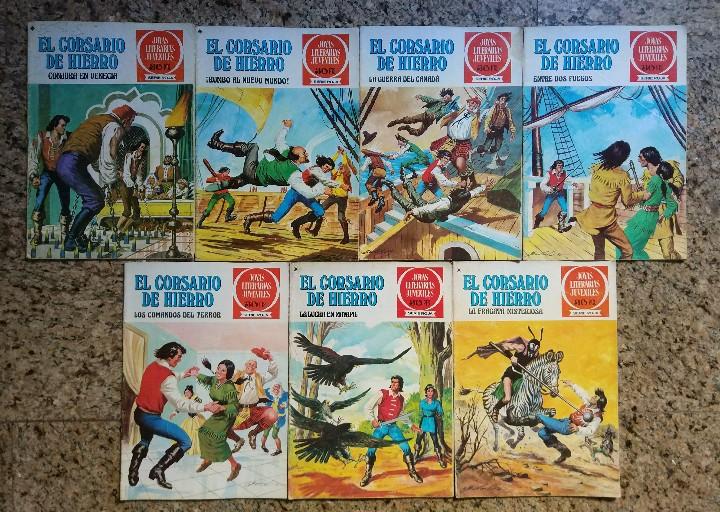 Tebeos: JOYAS LITERARIAS JUVENILES, LOTE DE 115 NUMEROS - ANTONIO BERNAL (BRUGUERA 1970) - Foto 4 - 112918503