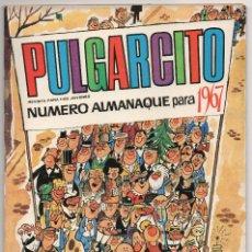 Tebeos: PULGARCITO ALMANAQUE 1967 (BRUGUERA 1966) CON SHERIFF KING Y AVENTURA DE CASSAREL.. Lote 112980795