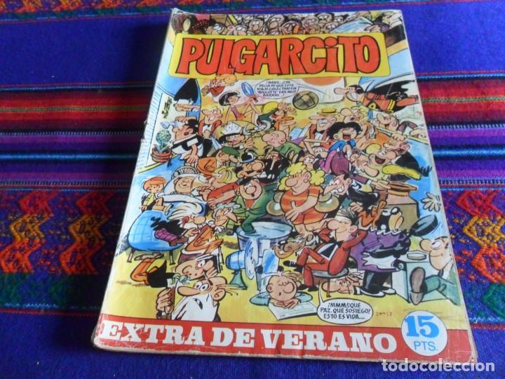 PULGARCITO EXTRA VERANO 1969 CON EL SHERIFF KING. BRUGUERA 15 PTS. RARO. (Tebeos y Comics - Bruguera - Pulgarcito)