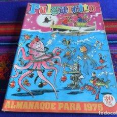 Tebeos: PULGARCITO ALMANAQUE 1975 CON EL SHERIFF KING. BRUGUERA 30 PTS. BUEN ESTADO.. Lote 112982751