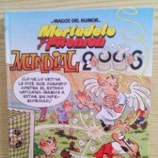 Tebeos: MAGOS DEL HUMOR - MORTADELO Y FILEMON - MUNDIAL 2006. Lote 113034643