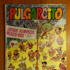 Tebeos: TEBEO - COMIC - PULGARCITO - JUEGOS OLÍMPICOS MEXICO 1968 - EXTRA VERANO . Lote 123442370