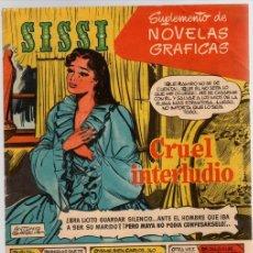 Tebeos: SISSI. SUPLEMENTO DE NOVELAS GRAFICAS. Nº 3. CRUEL INTERLUDIO. BRUGUERA. Lote 113050570