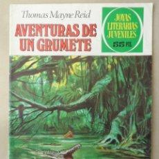Tebeos: JOYAS LITERARIAS JUVENILES Nº 157 - POSIBLE ENVÍO GRATIS - BRUGUERA - 3ª ED AVENTURAS DE UN GRUMETE. Lote 113072795