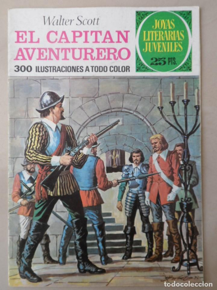 JOYAS LITERARIAS JUVENILES Nº 74 - POSIBLE ENVÍO GRATIS - BRUGUERA - EL CAPITAN AVENTURERO (Tebeos y Comics - Bruguera - Joyas Literarias)