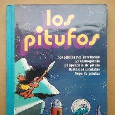 Tebeos: LOS PITUFOS VOLUMEN 2 BRUGUERA AÑO 1981. Lote 113075783