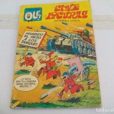 Tebeos: OLÉ Nº NÚMERO 70 CINE LOCURAS CINELOCURAS BRUGUERA 1ª EDICION 1973 GUERRA LOCA. ALFONSO FIGUERAS . Lote 113104587