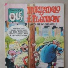 Tebeos: MORTADELO Y FILEMON OLE Nº 146 - POSIBLE ENVÍO GRATIS- BRUGUERA - 4ª EDICION VAYA PAR DE CHIFLADOS. Lote 113112215