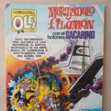 Tebeos: MORTADELO Y FILEMON OLE Nº 165 - POSIBLE ENVÍO GRATIS-BRUGUERA- 3ª EDICION 1985 CON BOTONES SACARINO. Lote 113112427