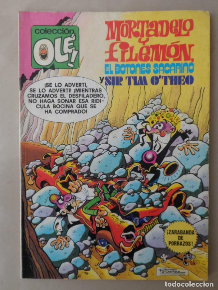 MORTADELO Y FILEMON COLECCION OLE Nº 170 - BRUGUERA- 2ª EDICION 1981 CON BOTONES SACARINO (Tebeos y Comics - Bruguera - Ole)
