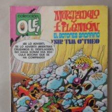Tebeos: MORTADELO Y FILEMON COLECCION OLE Nº 170 - BRUGUERA- 2ª EDICION 1981 CON BOTONES SACARINO. Lote 113112511