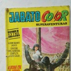 Tebeos: JABATO COLOR SUPERAVENTURAS EXTRA ¡LUCHA EN EL CIRCO! N° 30 SEGUNDA ÉPOCA. Lote 113123660