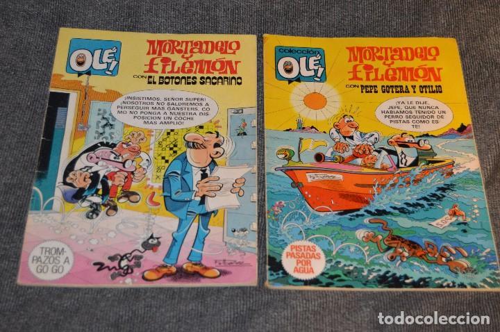 Tebeos: 1ª Edición / Atiguos - LOTE DE 14 EJEMPLARES VARIADOS DEL TEBEO OLÉ - HAZME UNA OFERTA - Foto 2 - 113207391