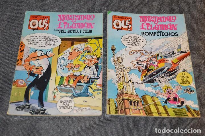 Tebeos: 1ª Edición / Atiguos - LOTE DE 14 EJEMPLARES VARIADOS DEL TEBEO OLÉ - HAZME UNA OFERTA - Foto 5 - 113207391