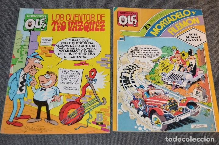 Tebeos: 1ª Edición / Atiguos - LOTE DE 14 EJEMPLARES VARIADOS DEL TEBEO OLÉ - HAZME UNA OFERTA - Foto 17 - 113207391