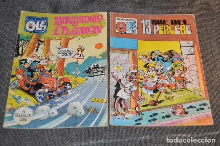 Tebeos: 1ª Edición / Atiguos - LOTE DE 14 EJEMPLARES VARIADOS DEL TEBEO OLÉ - HAZME UNA OFERTA - Foto 20 - 113207391