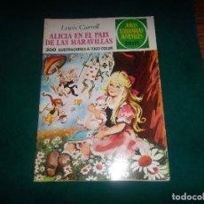 Tebeos: L. CARROLL, ALICIA EN EL PAIS DE LAS MARAVILLAS. Nº 138. BRUGUERA 1975. Lote 113297755