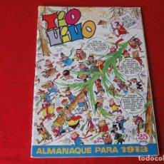 Livros de Banda Desenhada: TIO VIVO. ALMANAQUE 1973. 25 PTS. . C-8E. Lote 113310363