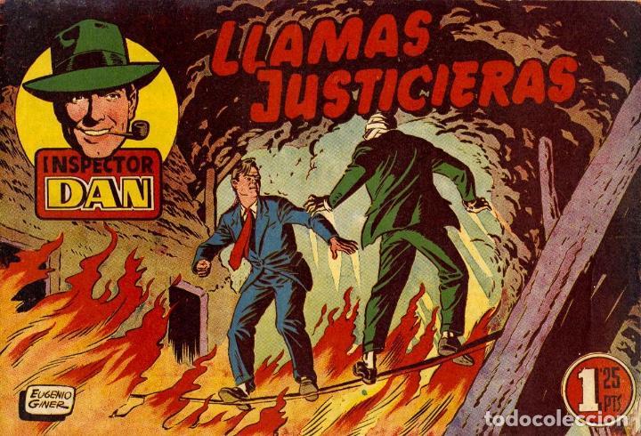 INSPECTOR DAN-15, DE EUGENIO GINER (BRUGUERA, MAYO DE 1952) (Tebeos y Comics - Bruguera - Inspector Dan)
