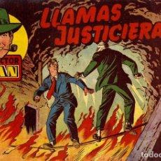 Tebeos: INSPECTOR DAN-15, DE EUGENIO GINER (BRUGUERA, MAYO DE 1952). Lote 113369687