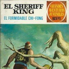 Tebeos: EL SHERIFF KING - EL FORMIDABLE CHI-FONG - BRUGUERA 1972, GRANDES AVENTURAS JUVENILES Nº 26, 1ª ED.. Lote 113702227