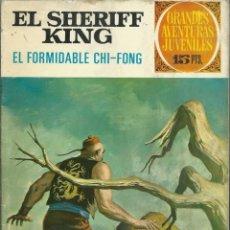 Tebeos: EL SHERIFF KING - EL FORMIDABLE CHI-FONG - BRUGUERA 1972, GRANDES AVENTURAS JUVENILES Nº 26, 1ª ED.. Lote 113702287