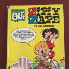 Tebeos: OLE Nº 10-Z.25. ZIPI Y ZAPE: LOS MINI - TERREMOTOS (1991). Lote 113896999