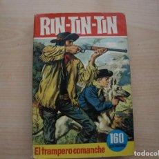 Tebeos: RIN TIN TIN - EL TRAMPERO COMANCHE - COLECCION HEROES - NÚMERO 23 - PRIMERA EDICION -. Lote 114072507
